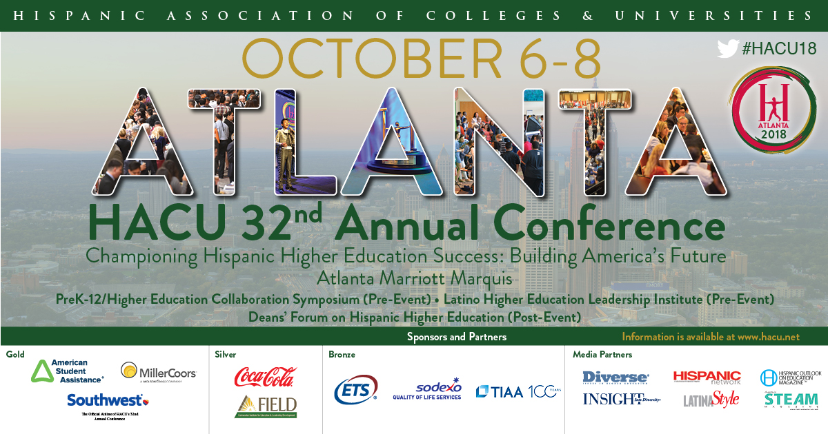 Hispanic Association Of Colleges And Universities Hacu Announces