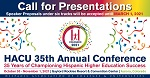 2021 Call for Presentations for HACU Annual Conference on Hispanic higher education